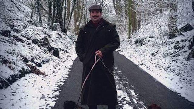 Dog walk at Stanton Stroll