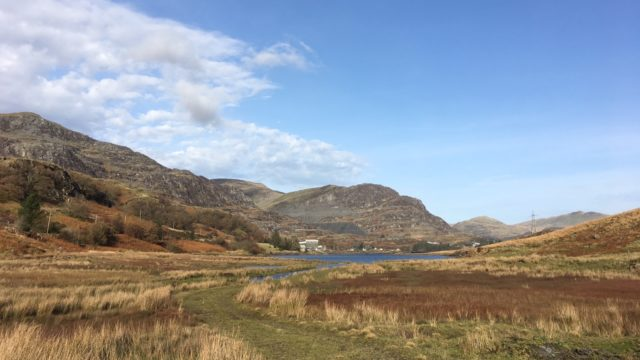Dog walk at Tanygrisiau - Round the Reservoir