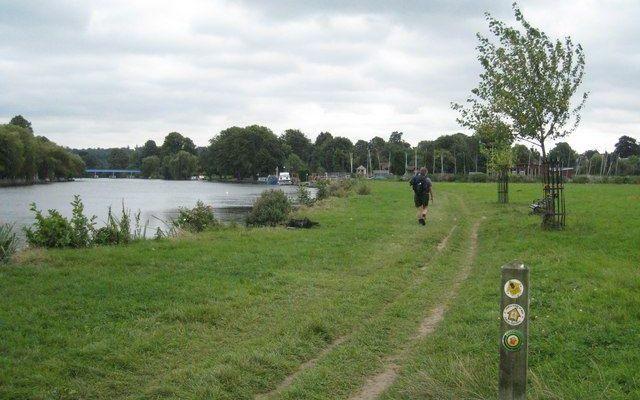 Thames Path - Cookham Dog walk in Buckinghamshire