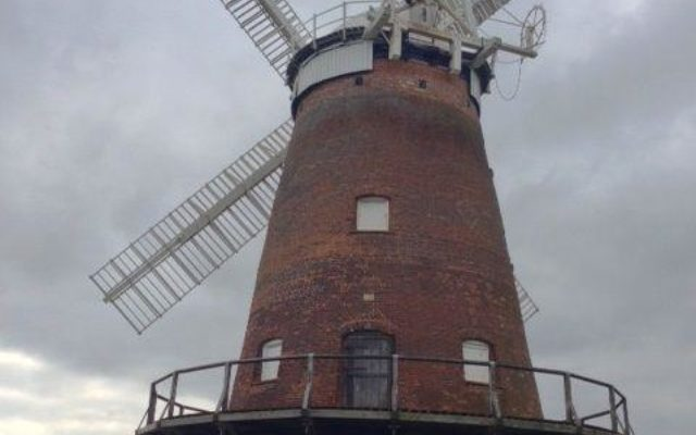 Thaxted Windmill Dog walk in Essex