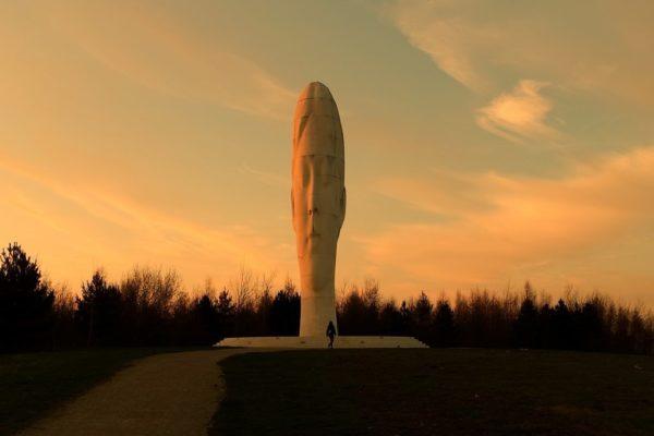 The Dream Sculpture, Sutton Manor Woodlandphoto