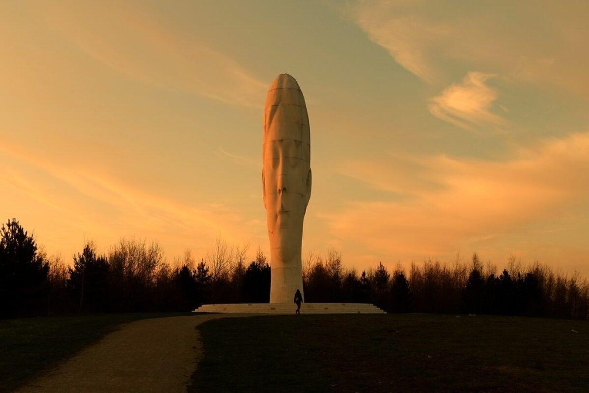 The Dream Sculpture, Sutton Manor Woodland large photo 1