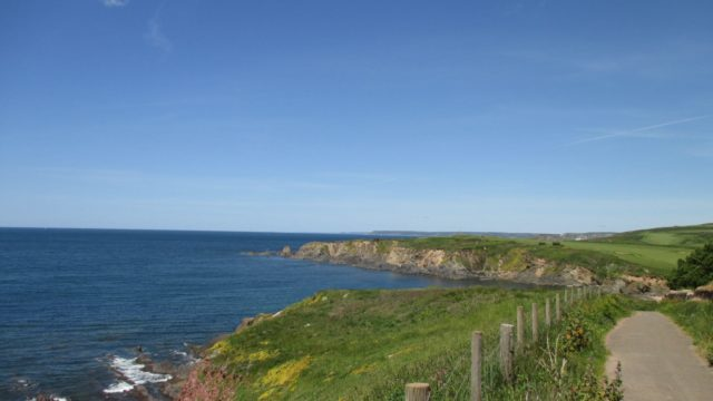 Dog walk at Thurlestone To Bigbury