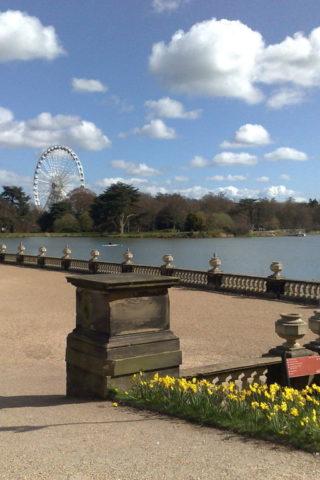 Dog walk at Trentham Gardens photo