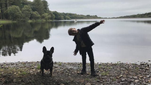 Dog walk at Upper Roddlesworth Reservoir
