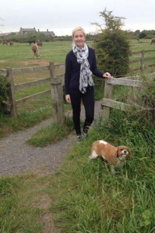 Dog walk at Wagon Ways photo