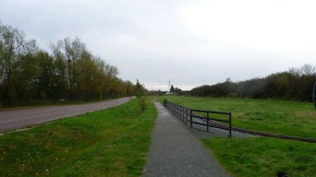 Dog walk at Wat Tyler Country Park