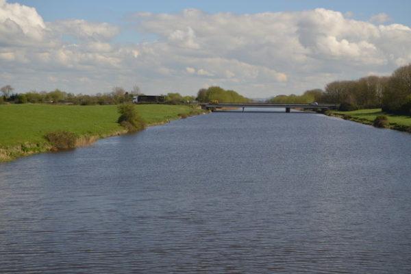 West Huntspill River Bankphoto