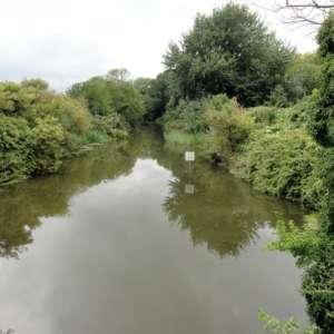 West Hythe Canal