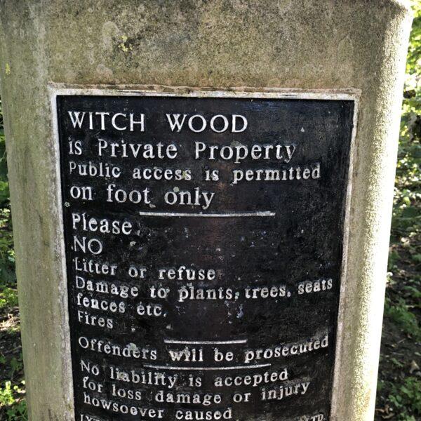 Dog walk at Witch Wood, Lytham